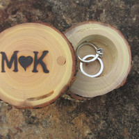Ring Box, Ring Pillow Box, Ring Bearer Box Made From Reclaimed Oak