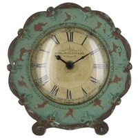 Turquoise Pewter Table Clock | Shop Hobby Lobby