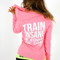 oGorgeous Gym Boutique - Train Insane Zip Hoodie