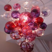 Berry Bubble Chandelier