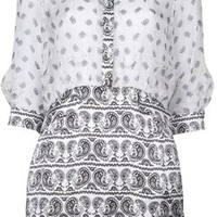 Pierre Balmain Paisley print Dress
