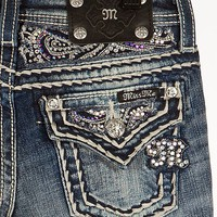 Girls-Miss Me Glitz Boot Jean