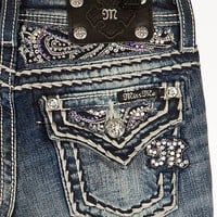 Girls-Miss Me Glitz Boot Jean - Girl's Jeans | Buckle