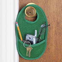 Doorknob Pocket @ Harriet Carter