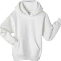 Hanes 7.8 oz COMFORTBLEND Fleece Pullover Hoodie Ash S