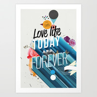 Everything Forever Art Print by Kavan & Co