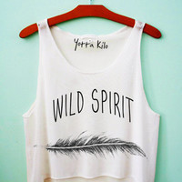 Wild Spirit Crop Tank Top