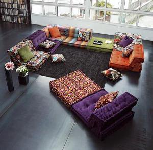 Colorful Furniture Sets for Creative Living Room Interiors | Designs & Ideas on Dornob