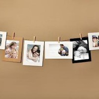 4x6 Photo Cards Picture Display Hanging Frame Set by SimpleShapes