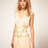 Three-Strap Pastel Harness Belt