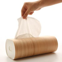 Wooden Tissue Paper Box  - MollaSpace.com