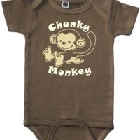 Funny Baby Onesuit (Chunky Monkey - Sizes 0 - 12 mo):Amazon:Clothing