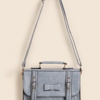 Nellie Structured Bow Satchel