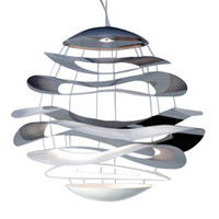 Innermost Buckle Chandelier by Tina Leung