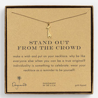 Dogeared &#x27;Stand Out&#x27; Giraffe Pendant Necklace | Nordstrom
