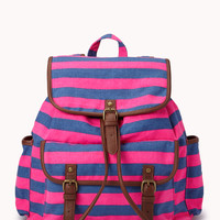 Day Trip Striped Backpack