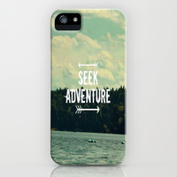 Seek Adventure iPhone & iPod Case by Rachel Burbee