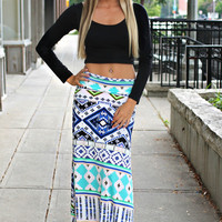 Tears of Joy Maxi Skirt