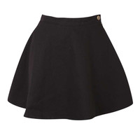 Black Mini Skirt at Fashion Union