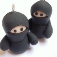 Hanging Ninjas by Lilley on Etsy