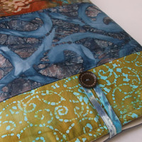 Ethnic Surface Pro or RT Case, iPad Tablet Case, Laptop Bag, Padded Sleeve, Cover, Pouch, Batik Boho