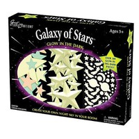 University Games Great Explorations Galaxy of Stars Glow in the Dark Wall Decoration Kit:Amazon:Toys & Games