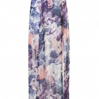 LOVE Marble Split Thigh Maxi Skirt - In Love With Fashion