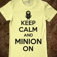 Keep Calm and Minion On