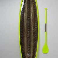 Limited-Edition Stand-Up Paddleboard, Kai 'Ewalu by Saffron James Lime One Size Gifts