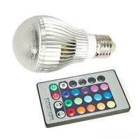 LED RGB Light Colorful Bulb