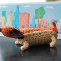 Weenie the Hot Dog Oswald Octopus Amigurumi by CraftyisCool