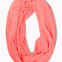 Striped Metallic Infinity Scarf | FOREVER 21 - 1077597821