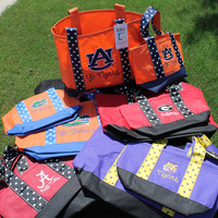 College Game Day Tote Bag Set