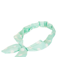 Polka Dot Wire Headband - Topshop USA