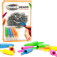 ERASER HEADS PENCIL TOP ERASERS