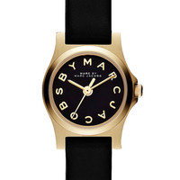 MARC BY MARC JACOBS 'Henry Dinky' Leather Strap Watch, 20mm