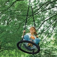 Round-and-Round Outdoor Swing:Amazon:Toys & Games