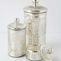 Monarch Mercury Jar by Anthropologie Silver