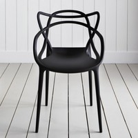 Black Phillipe Starck Masters Chairs