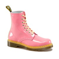 Womens Dr. Marten Pascal Boot, Pink Yellow | Journeys Shoes