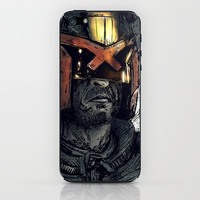 Dredd iPhone & iPod Skin by Balazs Pakozdi