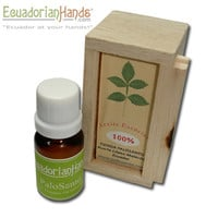 Palo Santo Essential Oil 100% pure. Bottle with dropper 12ml | Aromatherapy, an alternative medicine: Essential Oils | EcuadorianHands.com