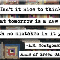 LM Montgomery Quote Magnet no166 by chicalookate on Etsy