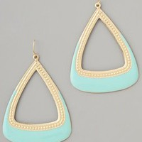 Adia Kibur Gold & Enamel Drop Earrings | SHOPBOP