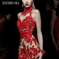 Sherri Hill Short Dress 21213 at Prom Dress Shop