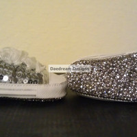 Custom Baby Bling Shoes by DaedreamDesigns on Etsy