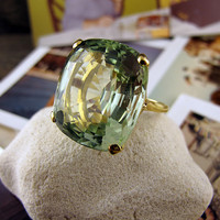 Green Beryl Ring | Shop | Erstwhile Jewelry Co.