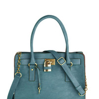 Full Course Load Bag in Matte Teal - 14"