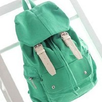 British Style Leisure Canvas Camping Bag Schoolbag from styleonline
