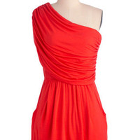 I'm Your Venus Dress in Coral | Mod Retro Vintage Dresses | ModCloth.com